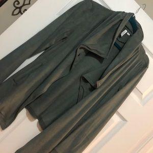 Fabulous Kenzie asymmetrical Suede Jacket